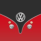 VW Camper Can Special Red by Boback Shahsafdari
