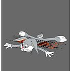 Bugs Bunny Roadkill  by Creative Spectator