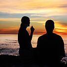Conversation At Sunset by heatherfriedman