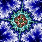 Fractal Blue Mandelbrot 1 by Robert E. Alter / Reflections of Infinity, LLC