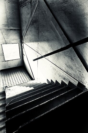 Old Staircase by Jill Fisher