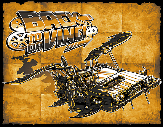 Back to Da Vinci! by Punksthetic