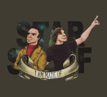 I AM STAR STUFF: Brian Cox and Carl Sagan by dmbarnham