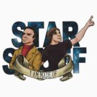 I AM STAR STUFF: Brian Cox and Carl Sagan V2.0 by dmbarnham