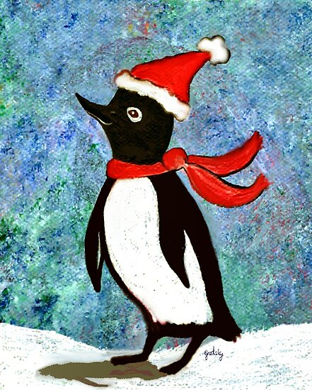 Holiday Penguin by gretzky
