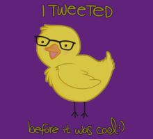 i tweeted before it was cool ;) by alou