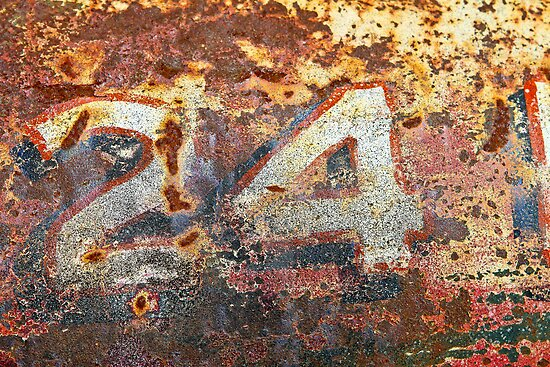 '24' Patina Wall Art by HoskingInd