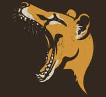 Tasmanian Tiger stencil t-shirt by Richard Morden