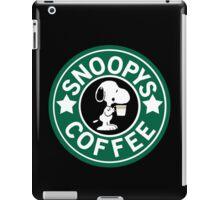 Snoopy's Coffee! iPad Case/Skin
