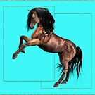Horse 7 .. calendar by LoneAngel