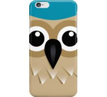 Wise Old Owl - T Shirt iPhone Case/Skin