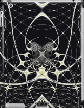 Golden Spiderweb by Vac1