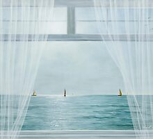 MORNING WINDOW by Diane Romanello by Diane Romanello