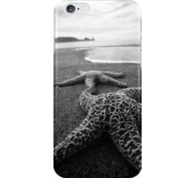 Starfish BW iPhone Case/Skin