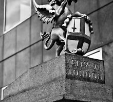 City of London Crest - London Bridge by A.David Holloway
