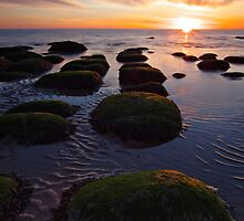 Hunstanton sunset by cieniu1