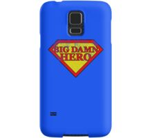 Big Damn Hero - Distressed  Samsung Galaxy Case/Skin