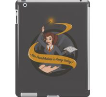 Join Dumbledore's Army today!  iPad Case/Skin