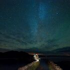 milky way over diabaig pier by paul mcgreevy