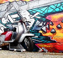 Lambretta Graffiti 2 by AArdMedia