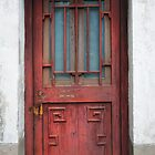 Red Door by Robin  Szala