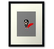 Chibi Bullseye Framed Print