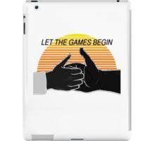 Thumb Wars iPad Case/Skin