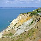 Alum Bay, Coloured Sand Cliffs  by Rod Johnson