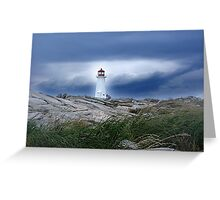 Against The Storm Greeting Card