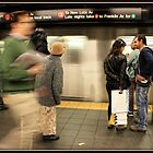 On the Platform by Mikell Herrick