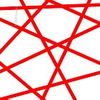 Red Straight Lines Web by ItD-Images