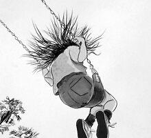 she loves flying..... by Loui  Jover