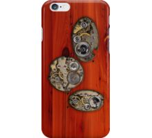Brass and wood Steampunk cover iPhone Case/Skin