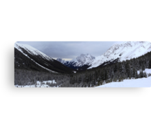 Panoramic ranges Canvas Print