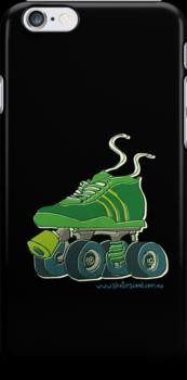 Big Roller Skate Black by Skatescool