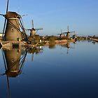Windmills II by HeleenO