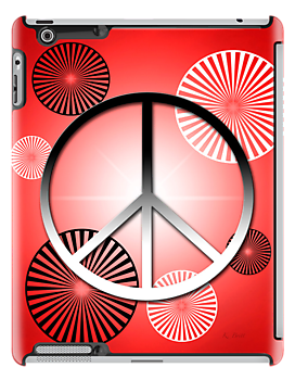 Peace iPad by KBritt
