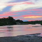 Sand river sunset by jozi1