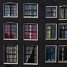 Amsterdam Windows by Louise Fahy
