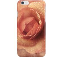 The Rain Always Reminds Me of You iPhone Case/Skin