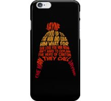 Cunning hat iPhone Case/Skin