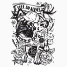 Dog and Tattoo by candelakis