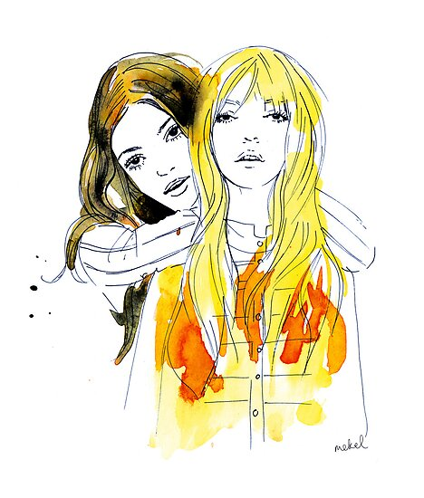 E and Gabrielle by mekel