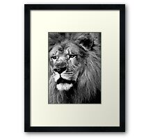 Like Thunder From The Sky....Sworn To Fight And Die...We're Warriors....Warriors Of The World... Framed Print