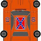 "The Dukes of Hazards car ""The General Lee"" Dodge Charger (Zoom to open) by ALIANATOR"