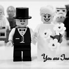 Lego Wedding by timkirman
