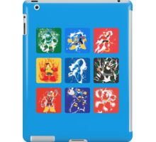 Robot Masters of Mega Man 2 iPad Case/Skin
