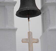 Greek Island Church Bell by SlavicaB