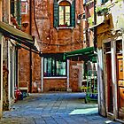 Venice Street Scene by Dennis Granzow