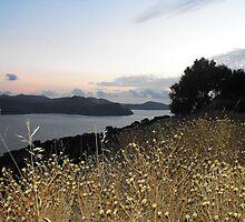 Greek Island Sunset view by SlavicaB